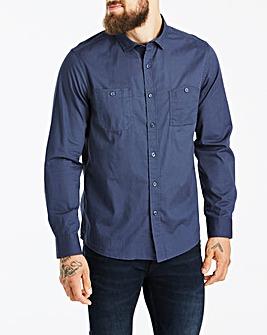 Jacamo Navy Military L/S Shirt Long