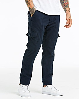 Navy Fatigue Detail Cargo Trouser 33 in