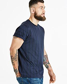 Vertical Stripe S/S T-Shirt