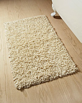 Everyday Twist Cotton Bath Mat Cream