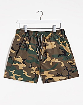 Camo Short Swimshorts