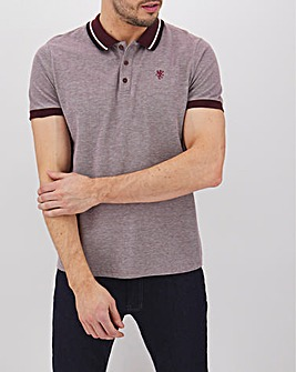 Short Sleeve Birdseye Polo Long
