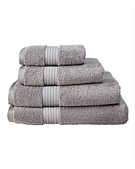 Pima Cotton Luxury Towel Range - Slate