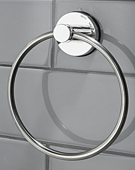 Gecko Stainless Steel Ring Towel Hanger