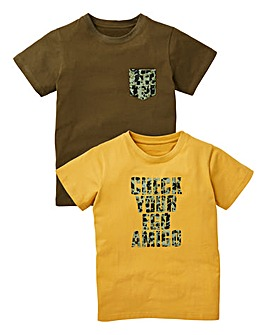 Boys Pack of Two T-Shirts