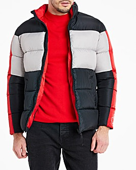 Multi Recycled Padded Puffer Jacket