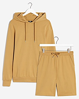 Lounge Short and Hoodie Set