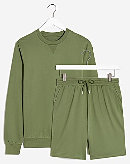 Lounge Short and Crew Neck Set