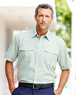 Premier Man Short Sleeve Pilot Shirt