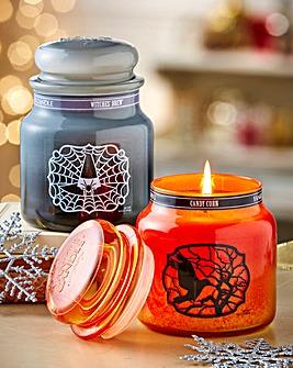 Yankee Candle Halloween Medium Jar Set