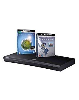 Samsung UHD HDR Blu Ray Player + DVD