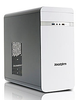 Zoostorm i3 8GB, 1TB Win 10 Desktop PC