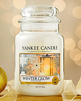 Yankee Candle Winter Glow Large Jar