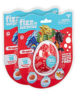 Fizz N Surprise Dragon Twin Pack