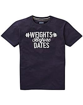 Jacamo Weights Graphic T-Shirt Long