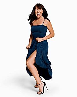 Joanna Hope Strappy Frill Hem Dress