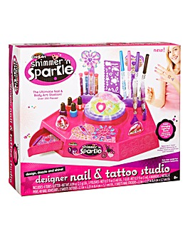 Shimmer & Sparkle Nail and Body Art Designer Studio