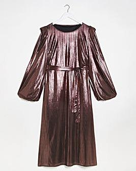 Lovedrobe Pleated Midi Dress