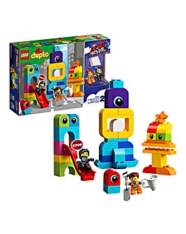 LEGO Duplo LEGO Movie 2 Emmet and Lucy's Visitors from the DUPLO Planet - 10895