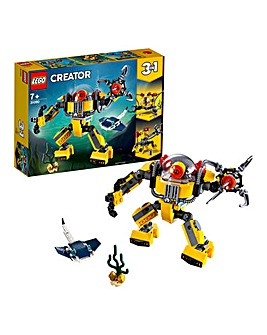LEGO Creator 3in1 Underwater Robot
