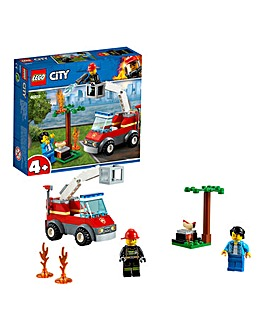 LEGO City 4+ Fire Barbecue Burn Out