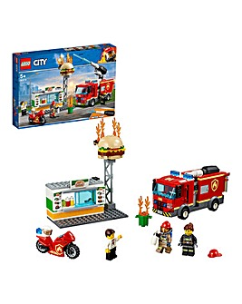 LEGO City Fire Burger Bar Fire Rescue