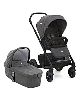 Joie Chrome DLX Pushchair & Carrycot