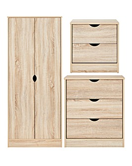 Harley 3 Piece Bedroom Set