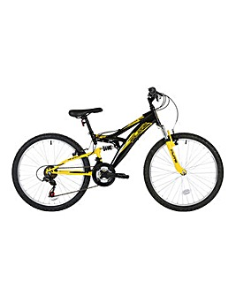 "Flite Taser 26"" Mens Full Suspension Mountain Bike"