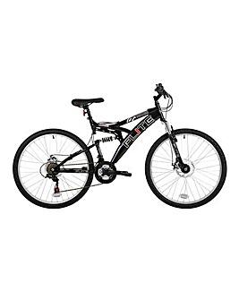 "Flite Phaser 26"" Mens Full Suspension Mountain Bike"