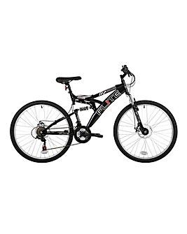 """Flite Phaser 26"""" Mens Full Suspension Mountain Bike"""