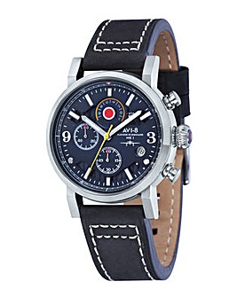 AVI-8 Hawker Hurricane Watch - Black