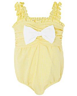 Monsoon Baby Bella Bow Swimsuit