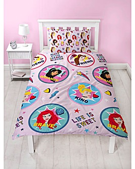 Disney Princess Fearless Duvet Set