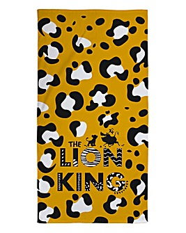 Lion King Print Towel