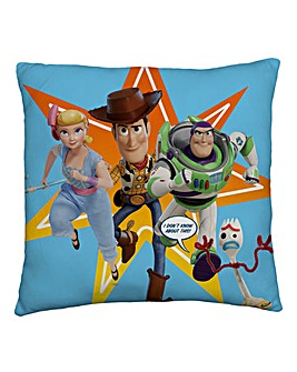Toy Story Rescue Square Cushion
