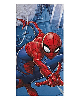 Ultimate Spiderman Blue Towel