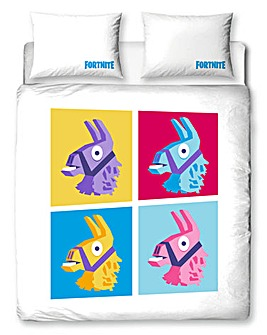 Fortnite Llama Double Panel Duvet