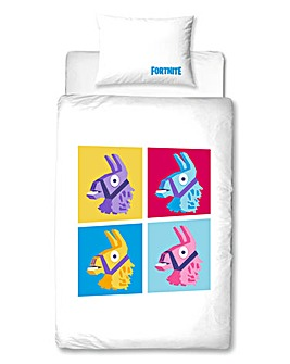 Fortnite Llama Single Panel Duvet