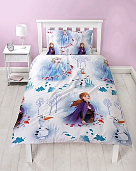 Frozen Journey Single Duvet Set