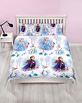 Frozen Journey Double Rotary Duvet