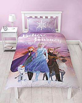 Frozen Scene Single Reversible Duvet