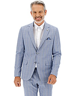 Light Blue Bill Regular Suit Jacket