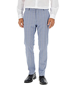 Light Blue Bill Regular Suit Trousers