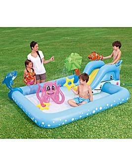 Bestway Aquarium Play Pool with Slide