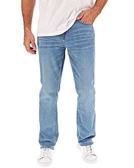 Lightwash Straight Fit Jeans