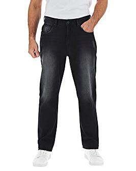 Blackwash Straight Fit Jeans