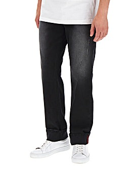 Blackwash Straight Fit Jeans