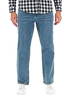Stonewash Loose Fit Jeans