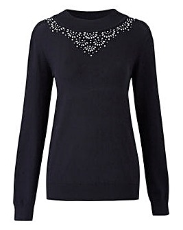 Jewel Trim Jumper